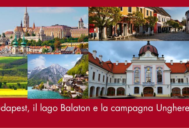 Budapest, il lago Balaton e la campagna ungherese