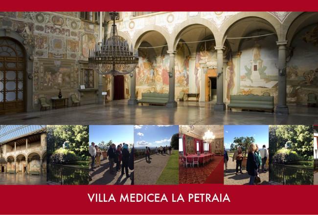 Villa medicea La Petraia visita guidata