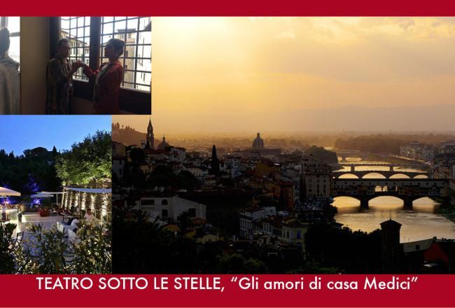 Apericena con Teatro al Piazzale Michelangelo