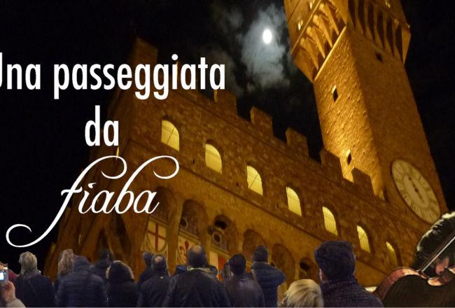 Passeggiata da Fiaba per le vie di Firenze in notturna