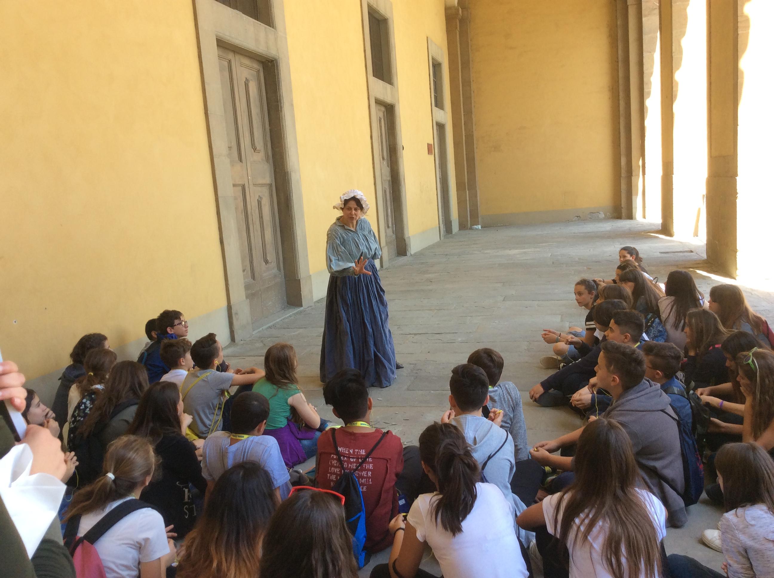 Trekking Urbano per le vie di Firenze con i ragazzi della Scuola