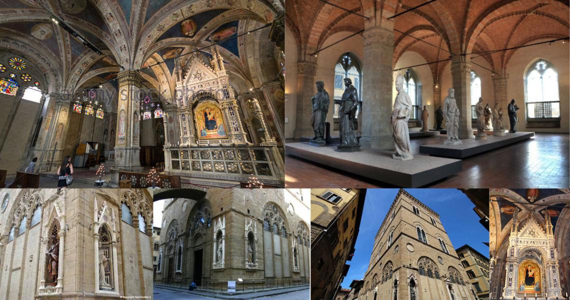 Visita guidata alla chiesa di Or San Michele e il museo delle statue