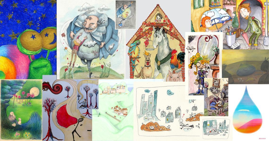 Illustratori vincitori del concorso Un Prato di Fiabe