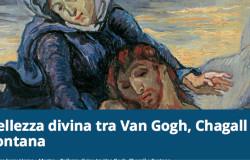 Bellezza divina tra Van Gogh, Chagall e Fontana