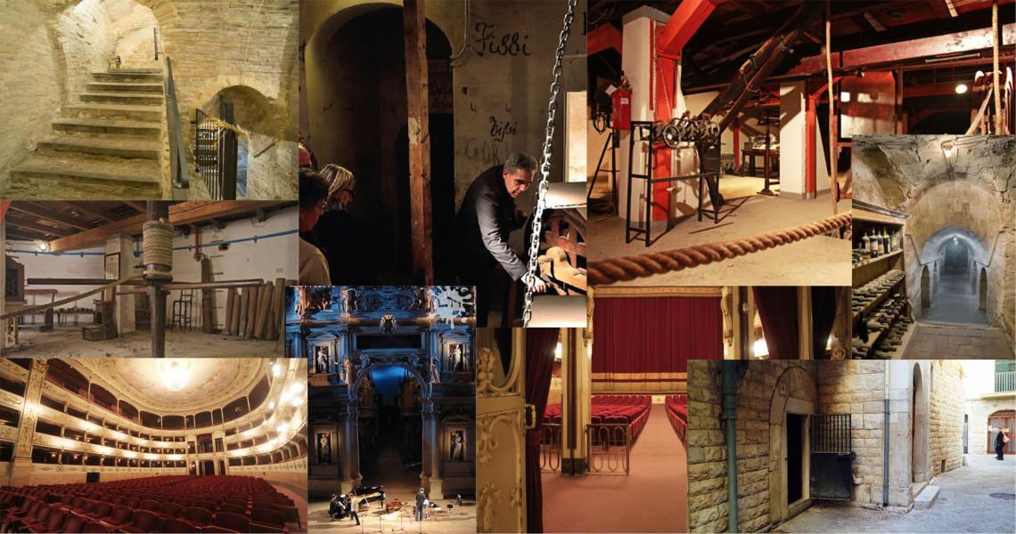 I sotterranei del Teatro della Pergola