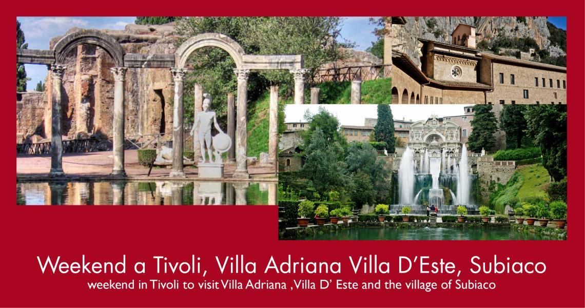 Tivoli - villa Adriana -Vilal D'Este