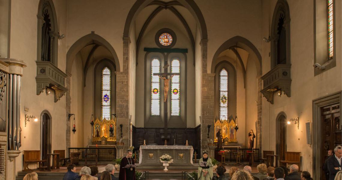 Percorso teatralizzato nella chiesa di S. Francesco a Prato