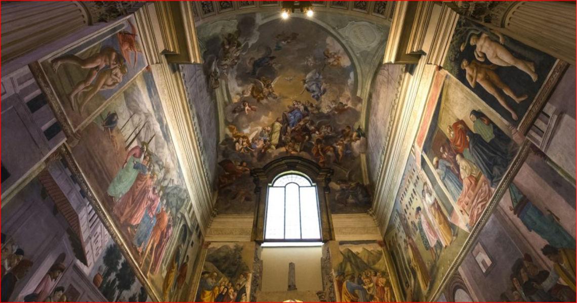 Visita guidata alla Cappella Brancaci e la Chiesa del Carmine
