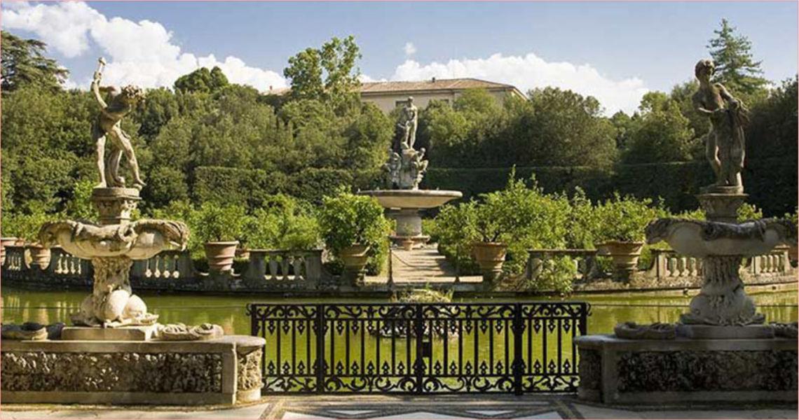 Passeggiata d'arte al Giardino di Boboli