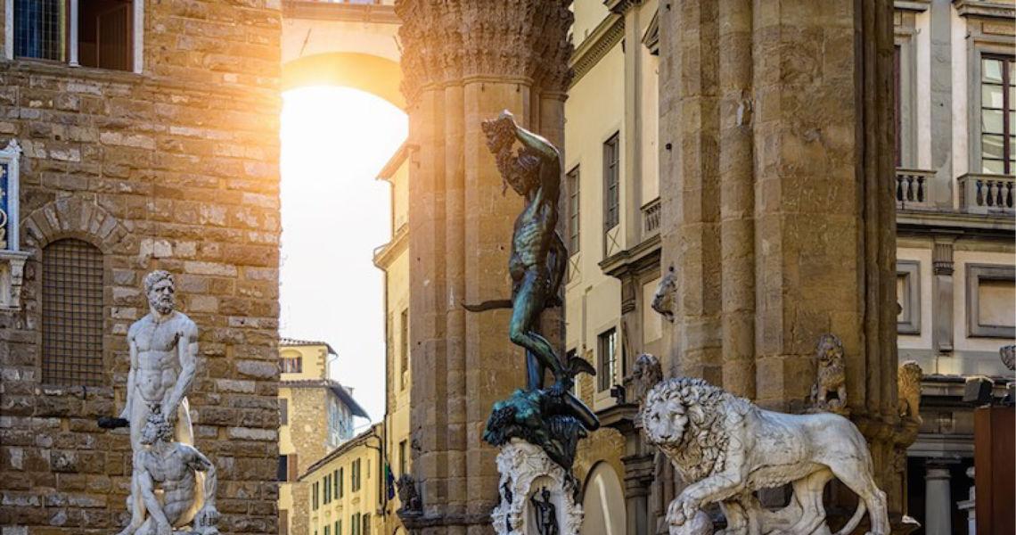 La notte delle statue, passeggiata notturna a Firenze