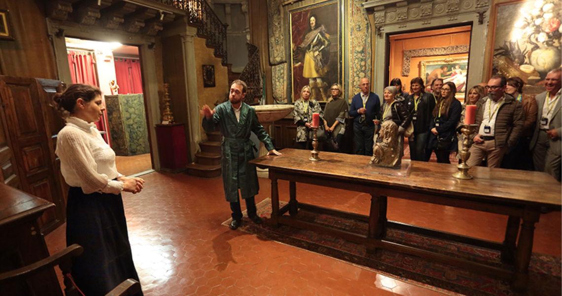 Museo Bellini Firenze- Teatro e visita guidata