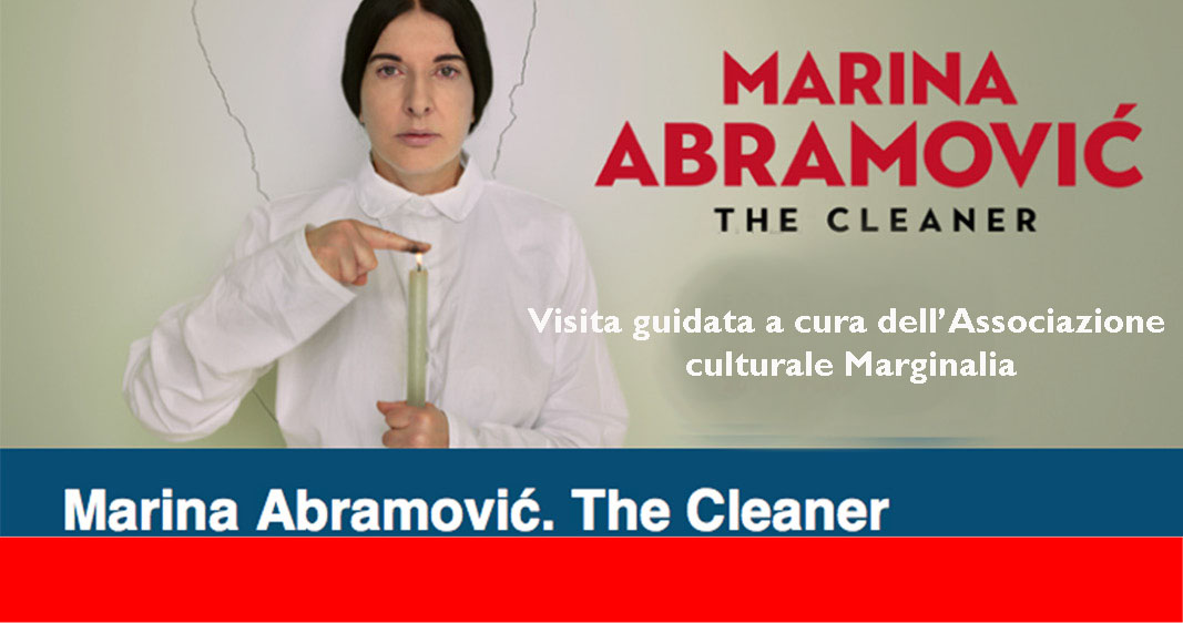 Marina Abramovic visita guidata a cura di Marginalia