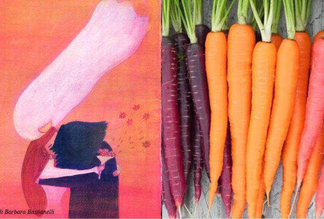 Cibiamoci ad arte , mostra di illustrazioni pittura e cibo