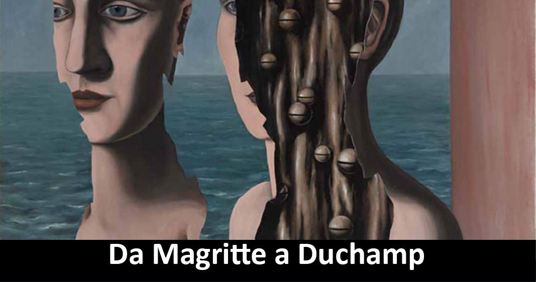 Visita guidata alla mostra Da Magritte a Duchamp