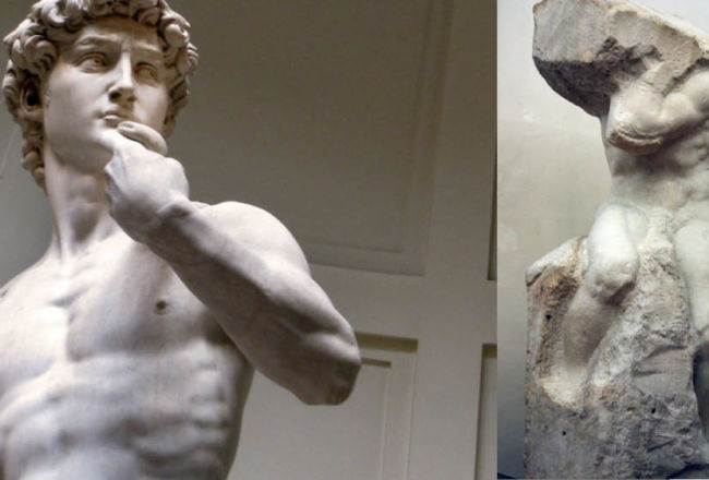 Il David di Michelangelo e le sere d'estate