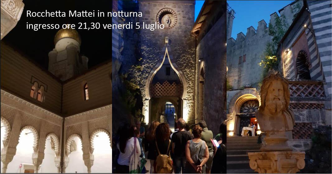 Visita notturna alla Rocchetta Mattei