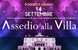 Assedio alla Villa, Poggio a Caiano, visite guidate notturne