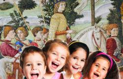 Percorso per bambini, per conoscere le vie e la casa della famiglia Medici a Firenze