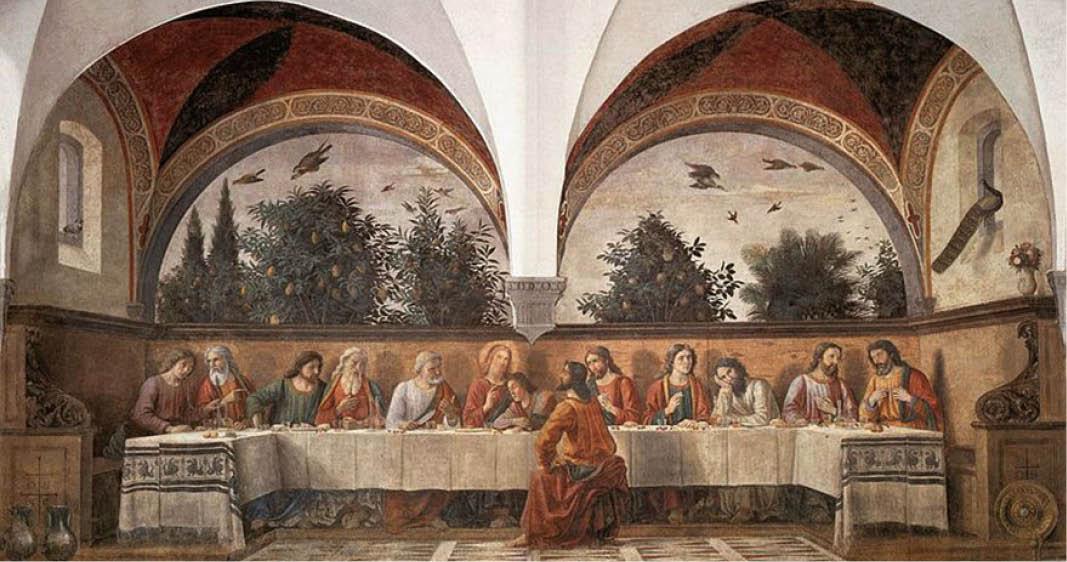 Visita guidata al Cenacolo di Ognissanti