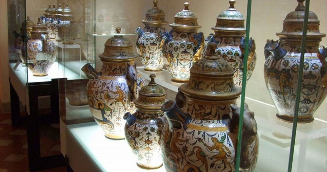 Il Museo delle ceramiche dell'antica Officina Profumo
