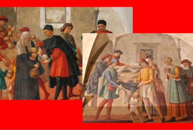 L'oratorio dei Buonomini e il quartiere di Dante