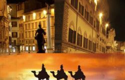 Sulla via dei re Magi a Firenze