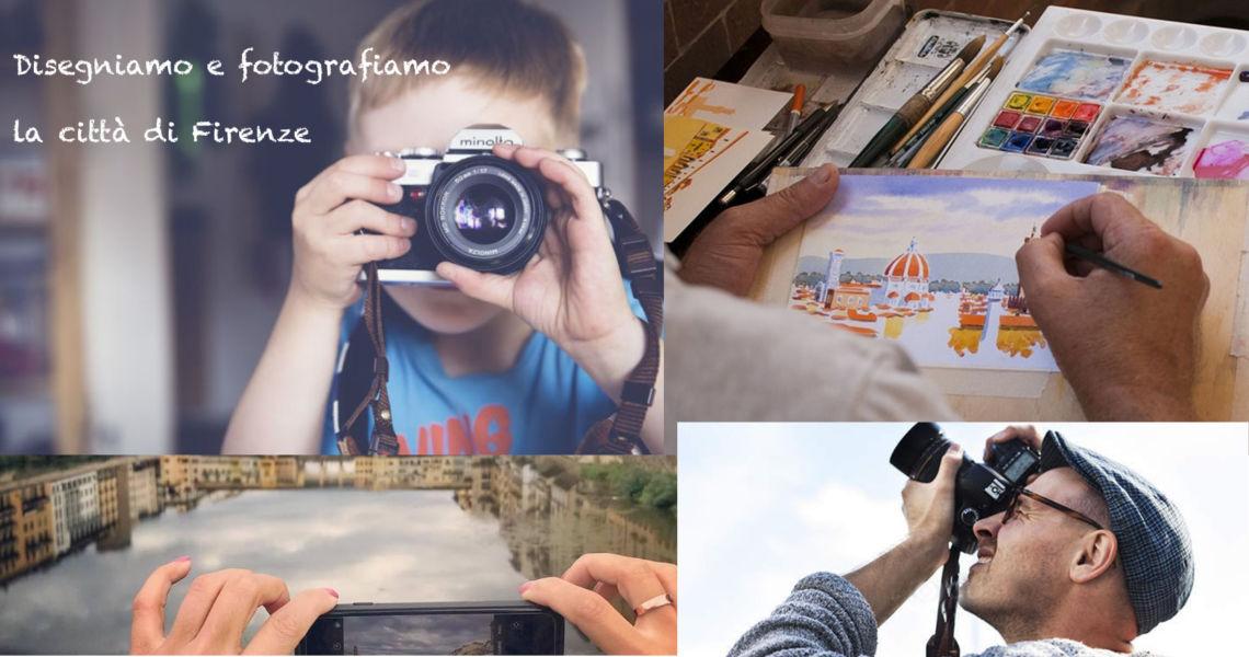 Disegniamo e Fotografiamo la città di Firenze in Oltrarno