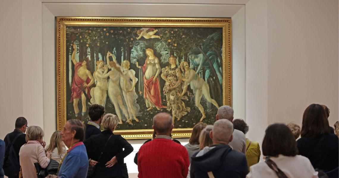 Museo degli Uffizi, visita guidata ai grandi capolavori