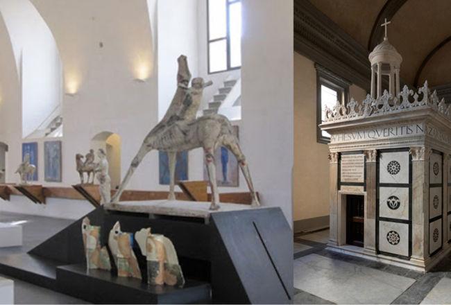 La Cappella Rucellai, il Sacello del Santo Sepolcro e il Museo Marino Marini
