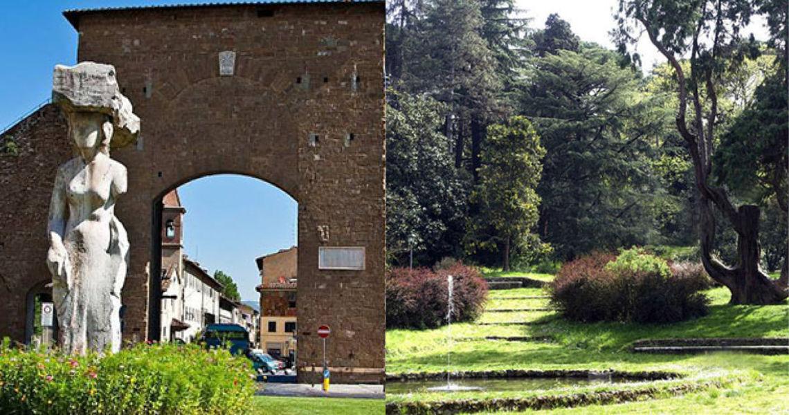 Da Porta Romana al Giardino del Bobolino