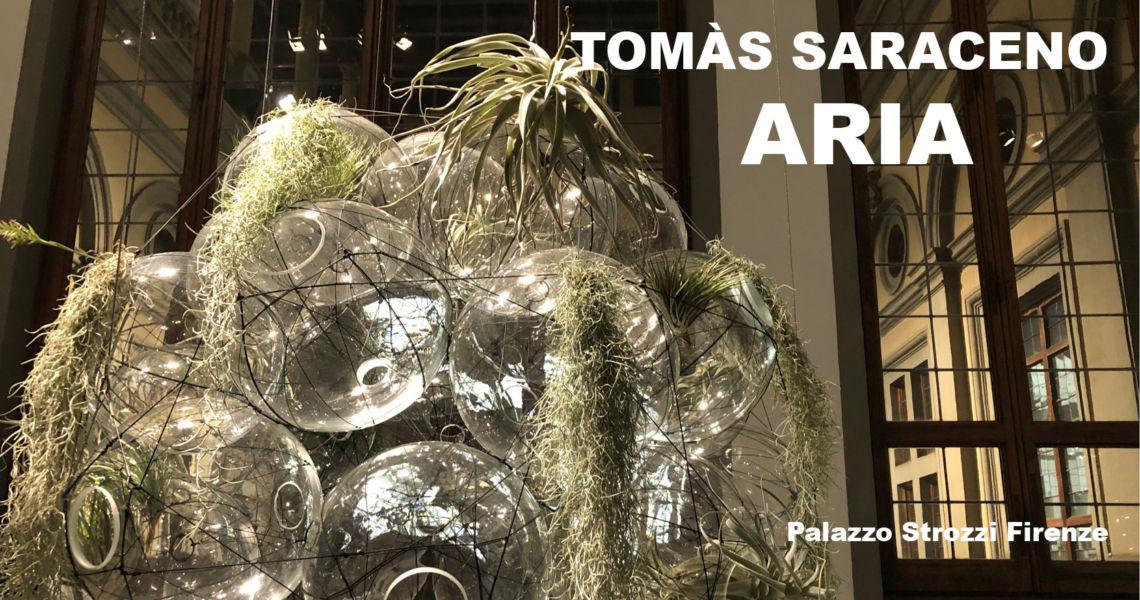 "Tomàs Saraceno - visita guidata alla Mostra ""ARIA"""