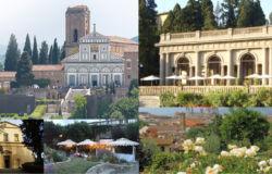 Paasseggiata storica da San Miniato al Monte al Piazzale Michelangelo
