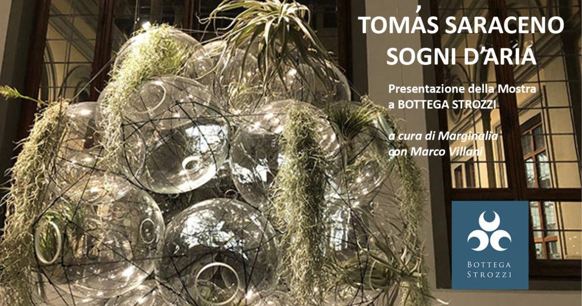 Presentazione della Mostra di TOMAS SARACENO a cura dell'associazione Marginalia