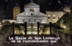 10 agosto, serata d'ascolto sulle stelle di San Lorenzo