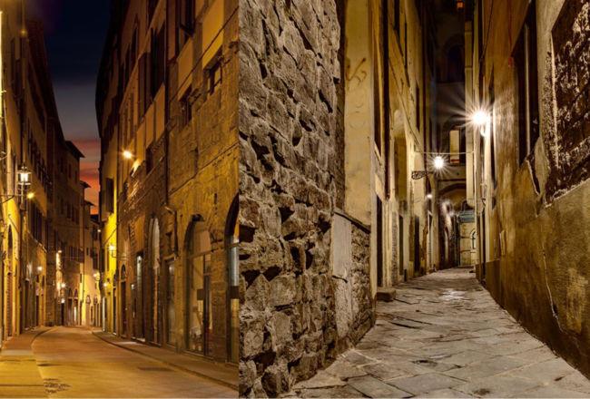 Firenze, il racconto delle strade