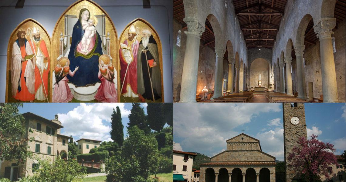 Gita per ammirare Masaccio la pieve di Santa Rita e i luoghi di Casa Cares