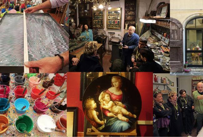 Passeggiata fra gli artigiani di Firenze