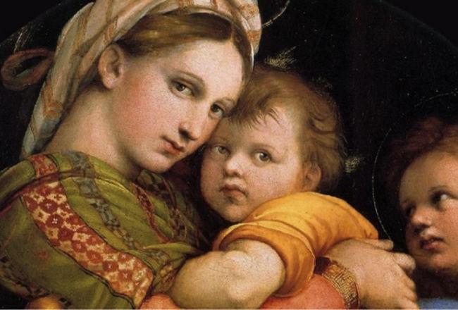 Raffaello il divin pittore alla Galleria Palatina