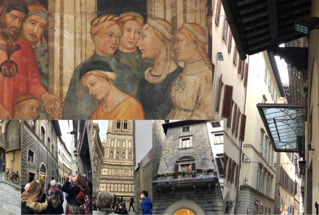 Passeggiata storica nei luoghi dell'accoglienza fiorentina