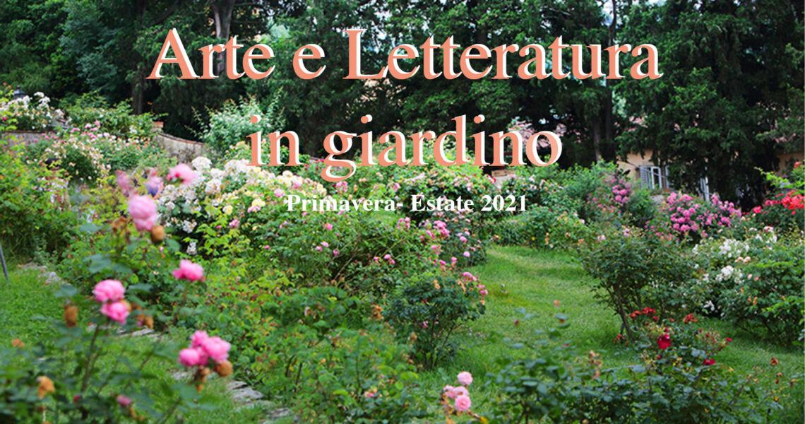 Arte e letteratura in giardino