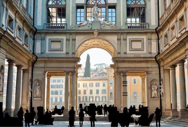 Uffizi, visitiamoli insieme, nella bella luce del mattino.
