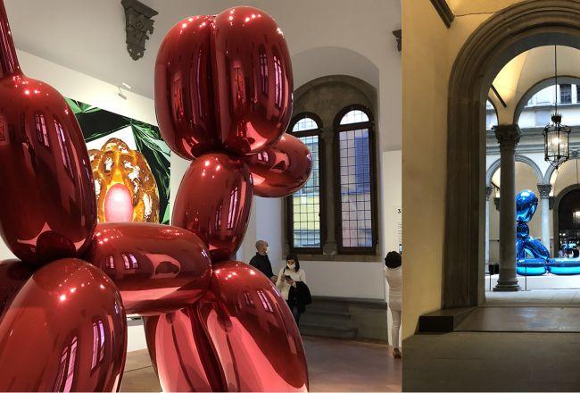 JEFF KOONS - SHINE, mostra a Palazzo Strozzi con Marginalia